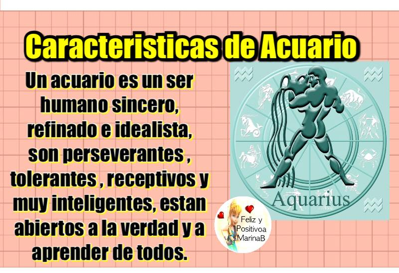 Todo sobre tu signo caracteristicas del signo acuario for Todo para acuarios