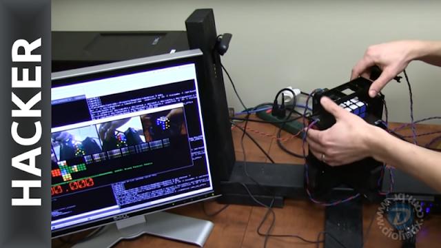 Hackers criam máquina para resolver o cubo mágico