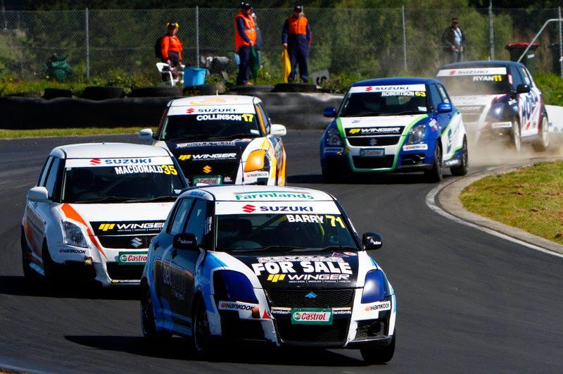 New Zealand Suzuki Swift Sport Cup, samochody dla młodych ludzi, sport, wyścigi
