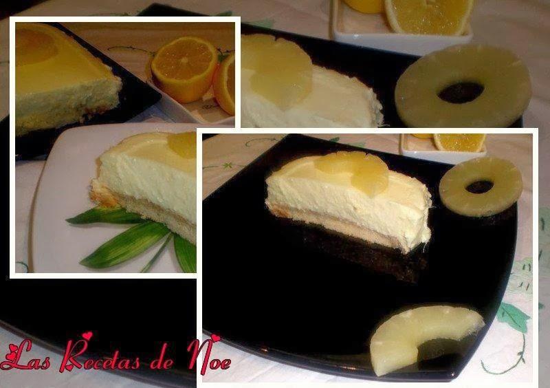 Tarta de Piña y Limón
