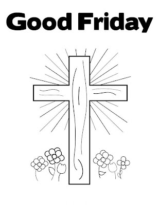 Free Printable Good Friday Coloring Pages Cool Christian