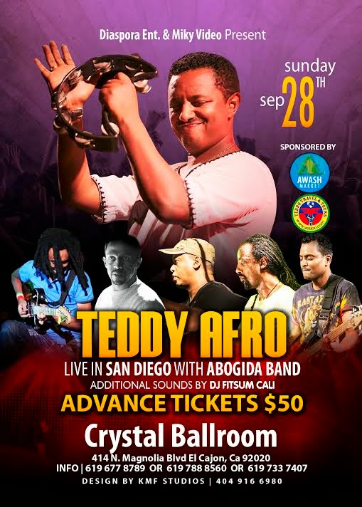 Teddy Afro Page