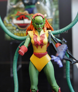 Mattel Matty Collector 2013 Toy Fair Display - Masters of the Universe MOTU Classics Octavia figure