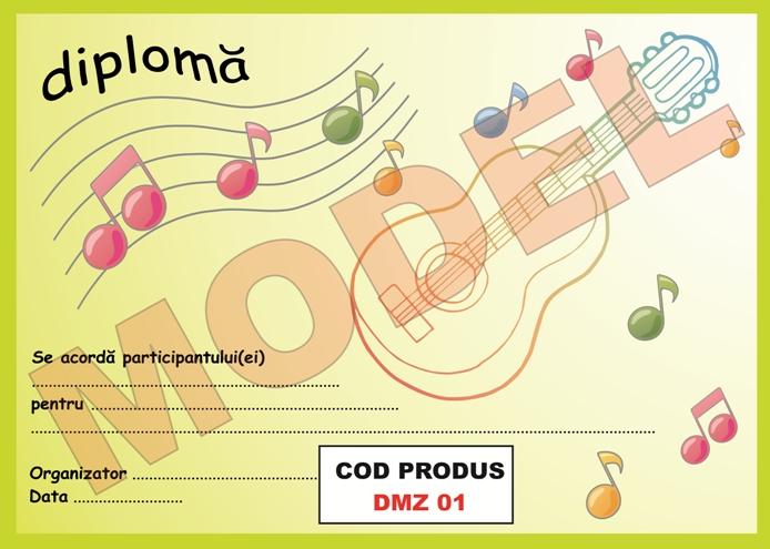 Pentru Copii Modele Diplome Cu Instrumente Muzicale Pentru Copii Model