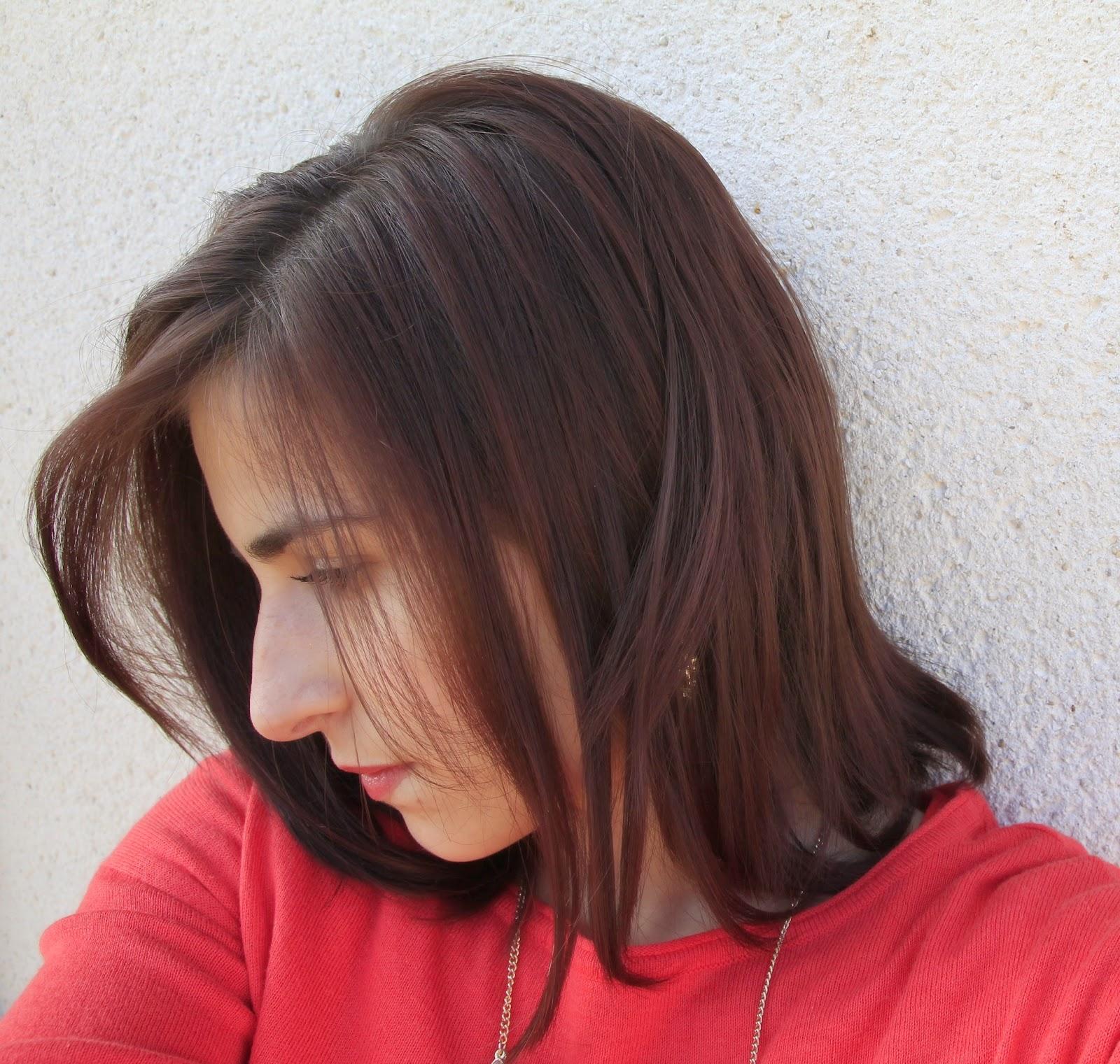 voil ma couleur de cheveux aprs le soin coloration de logona couleur chataigne et voil en dessous une photos qui date de dbut fvrier - Coloration Logona Chataigne