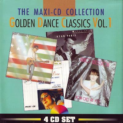 Golden Dance Classics Vol.1 - The Maxi CD Collection (Various Artists) italo disco 80\'s eurobeat classics