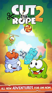 Screenshots of the Cut the rope 2 for Android tablet, phone.