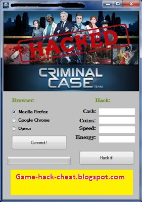 Criminal Case HACK [PC] ~ Game-Hack-Cheat