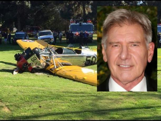 Harrison Ford gravemente herido tras estrellar avión que piloteaba