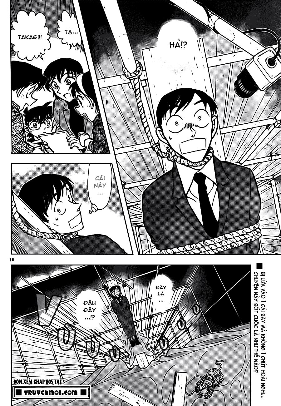 Thám Tử Lừng Danh Conan - Chapter 804 - Pic 17