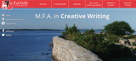 Fairfield University - Low-Residency MFA in Creative Writing