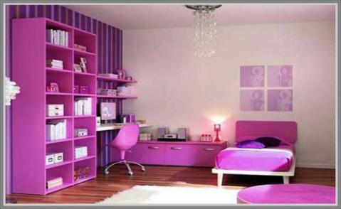 ideas for girls bedroom decoration with purple ideas for home decor