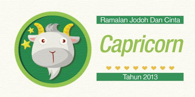 Bintang Capricorn : Ramalan Jodoh Dan Cinta Tahun 2013