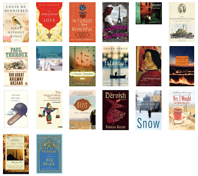 Turkish books read in 2013
