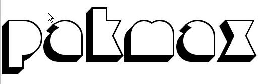 Misirlou Day 3D font