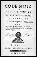Código Negro el manual para los esclavos