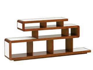 en internet existe una gran variedad de estantes modernos y muy creativos pueden ser sencillos y modulares de gran variedad de colores y diseos