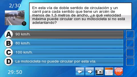 Autoescuela Aprueba Conmigo PSP ISO Screenshoot 1