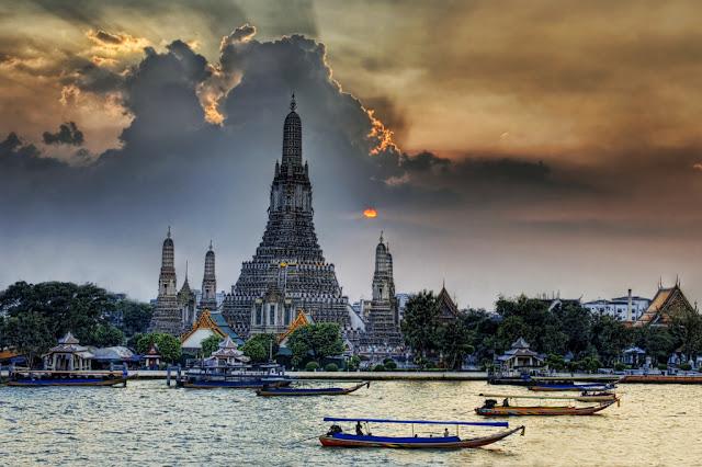 Templo Wat Arun de Bangkok