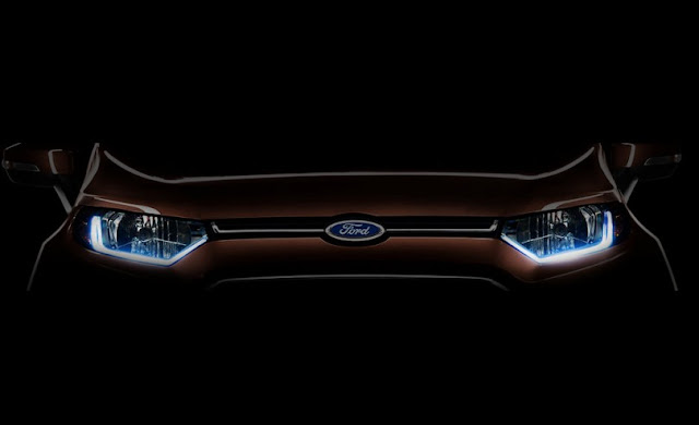 Ford EcoSport facelift teased