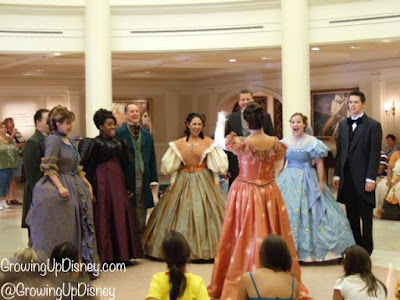 Voices of Liberty, Epcot entertainment, Growing Up Disney
