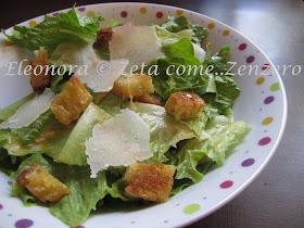 6. La Caesar salad di Eleonora