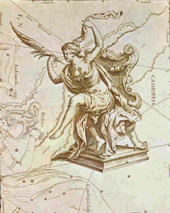 constelacion cassiopea