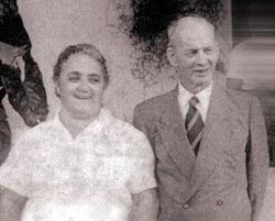Otávio Brondi e Maria Auta, celebridades que marcaram época em Altinópolis.