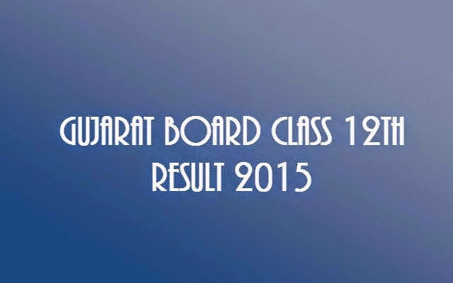 Check GSEB Result 2015