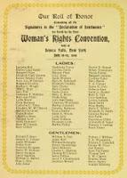 DECLARACIÓN DE SENECA FALLS (1848) (Acceso en línea)