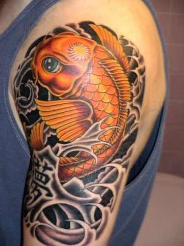 tattoos pisces koi fish tattoos