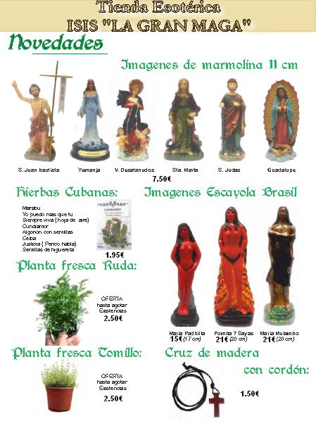 CATÁLOGO ESOTÉRICO