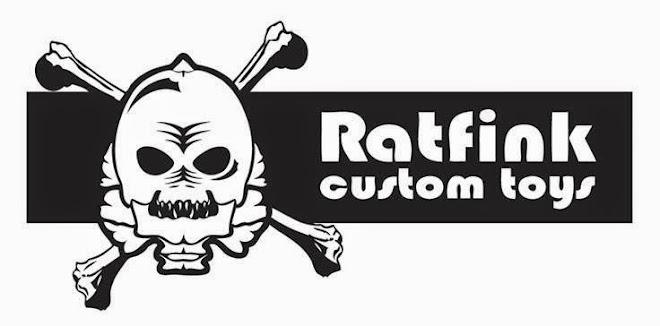 Ratfinks custom toys