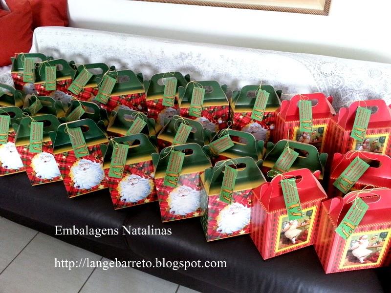 Embalagens Natalinas