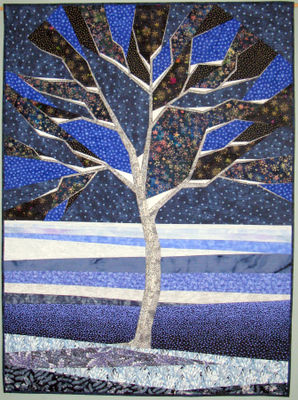 Ashbee Design Birch Trees In Quilts And Fiber Arts