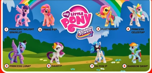 Rainbow Power ponies