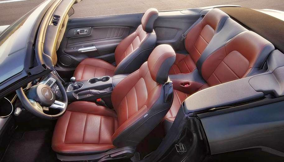2015 Ford Mustang GT Automatic Interior