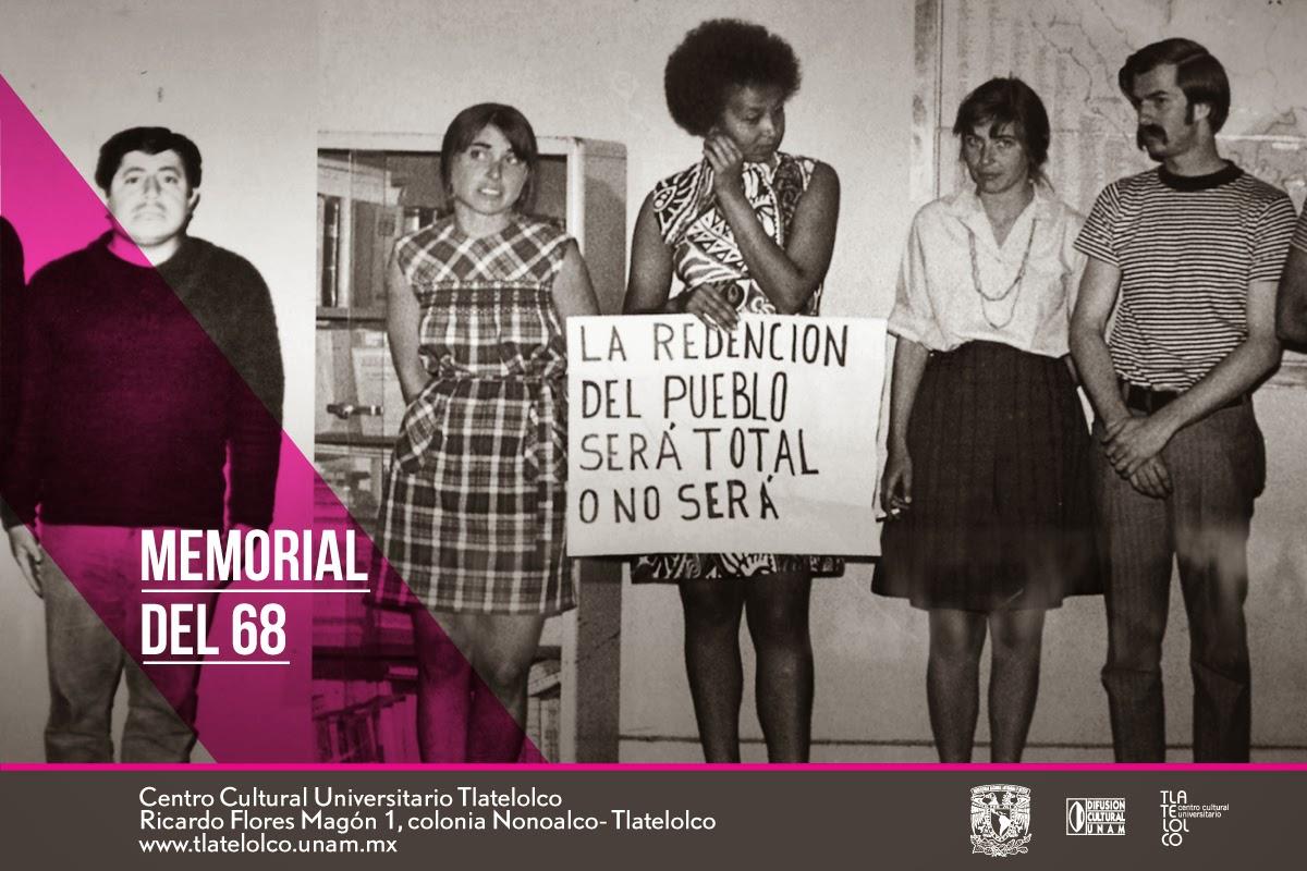Ciclo de actividades conmemorativas al Movimiento Estudiantil de 1968 en Tlatelolco