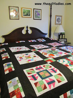 Applique Into Patchwork Quilt