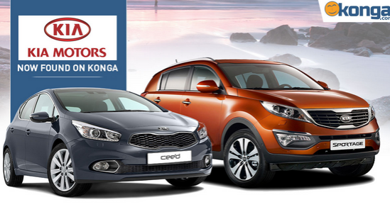 you can now order for kia motors on konga pay on