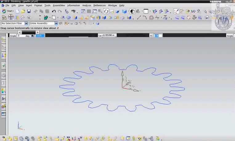 Gear Drawings Draw Spur Gear in Autocad