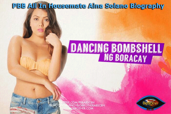 PBB All In Housemate Aina Solano Biography