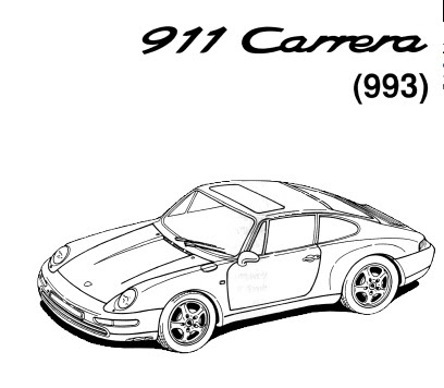 Porsche 911 Carrera 933 Repair Manual on operation maintenance manuals
