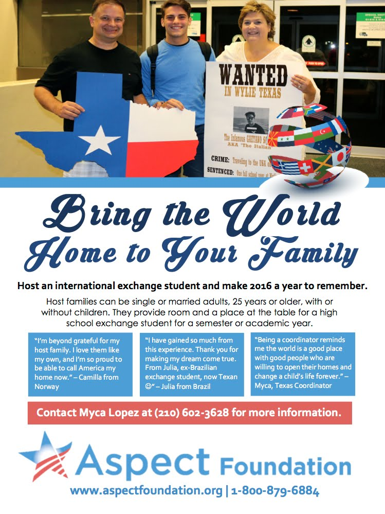 Become a Host Family!