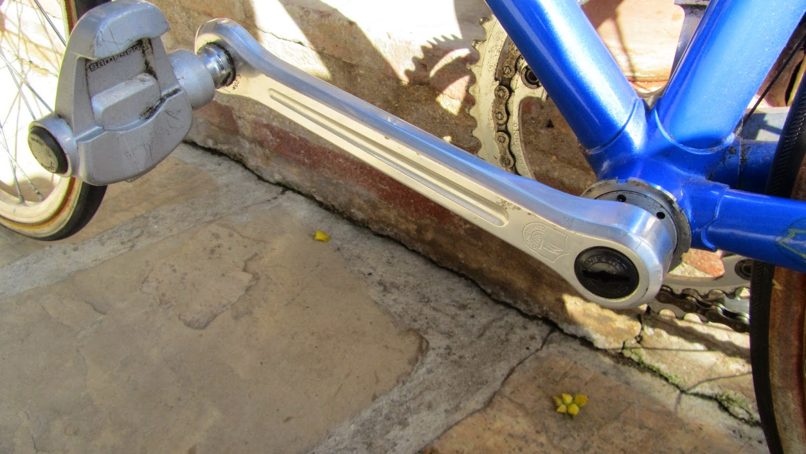 bicicleta orbea contrarreloj - biela campagnolo