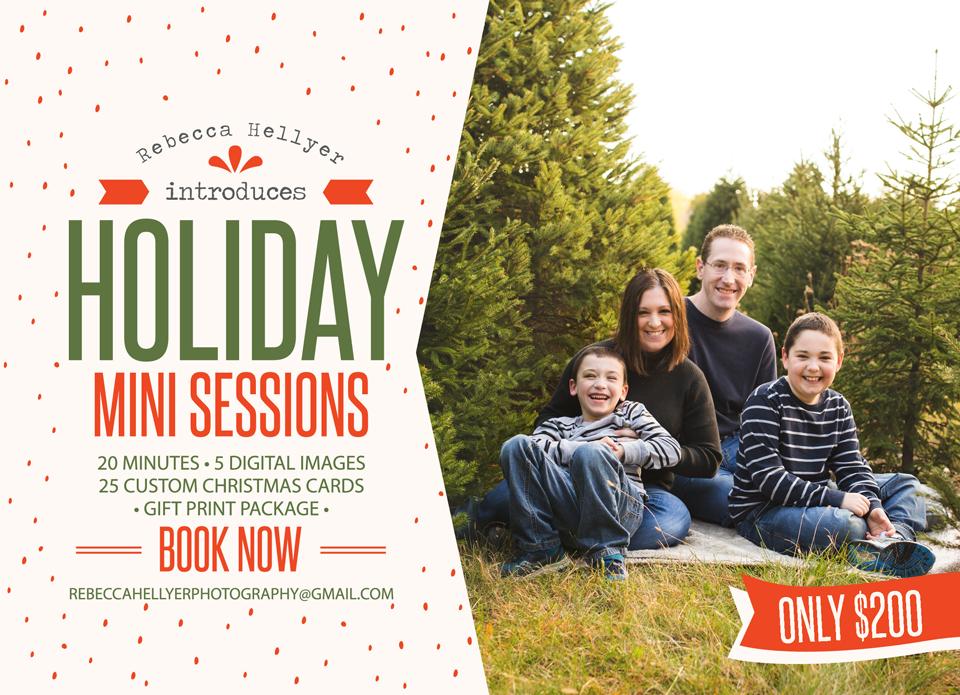 Where: Ide Christmas Tree Farm, Downer's Grove IL - Christmas Tree Farm Mini-Sessions - Rebecca Hellyer Photography