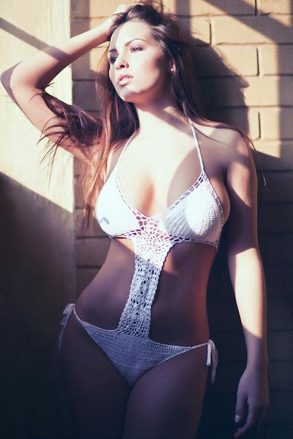 Sabine Jemeljanova Sexy in Bikini