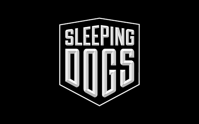 Sleeping Dogs title screen logo