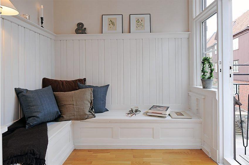 Scandinavian Study Room Design