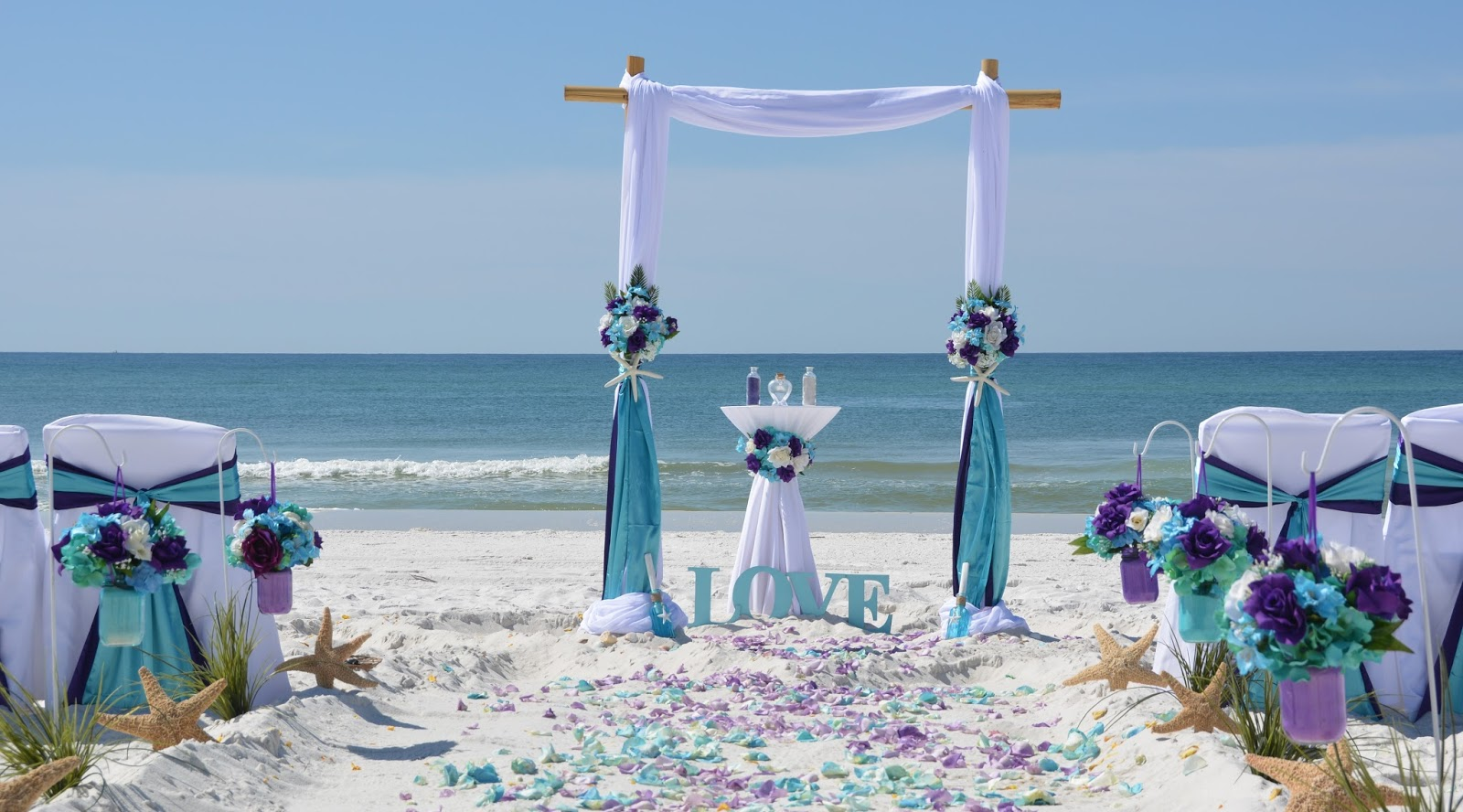 Affordable Florida Barefoot Beach Wedding Packages
